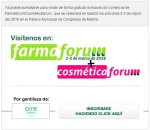 invitacion farmaforum aire limpio