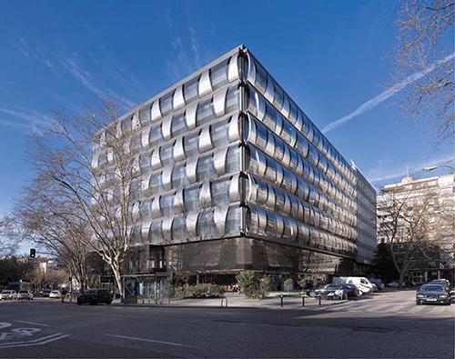 Edificio blueBUILDING