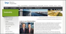 Boston Properties, edificios sostenibles