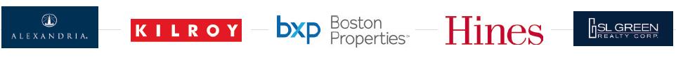 Logotipos inmobiliarias americanas comprometidas con la salud, bienestar y sostenibilidad de los edificos