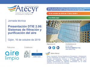 Jornada Técnica Sistemas de Filtración y Purificación del Aire en Asturias