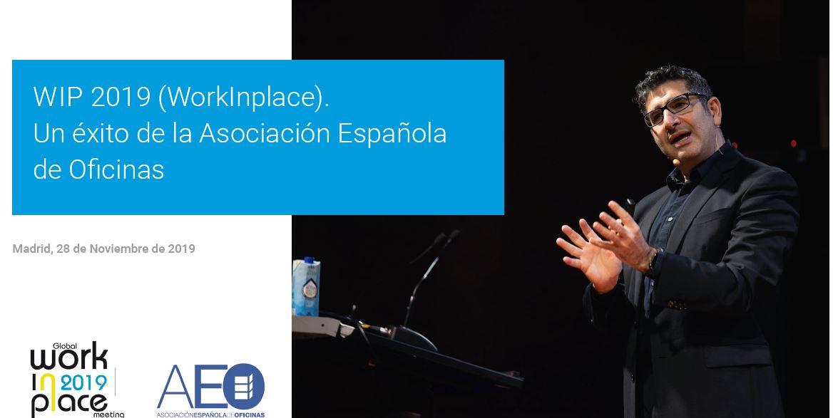 Éxito de la Asociación Española de Oficinas