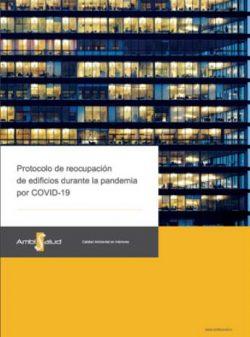 protocolo de reactivación de edificios durante la pandemia por COVID-19