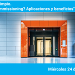 """Webinar Aire Limpio – Commtech. """"¿Qué es el commissioning? Valor, aplicaciones y beneficios"""""""